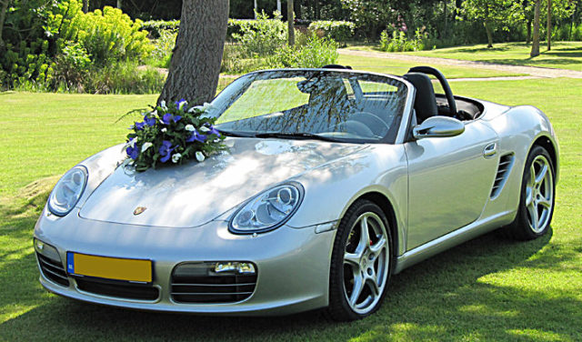 Porsche Boxster Voorkant