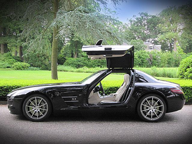 Mercedes SLS 6.3 AMG Voorkant