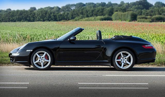 Porsche 911 zijkant