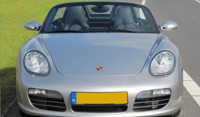 Porsche Boxster S voorkant
